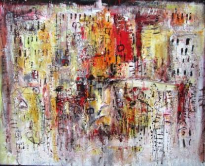 Varga György: Olyan mindegy..., 2012, vászon, olaj