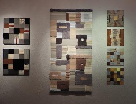 Pataki Tibor alkotásai a I. művésztelep  Várnegyed Galériában bemutatott kiállításáról