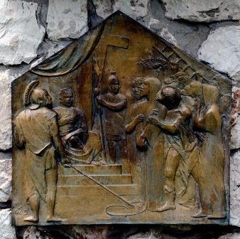 Bicserdi_Nemzetkozi_Muvesztelep_Muvek_Soltra_Elemer_Staciok II_bronz relief