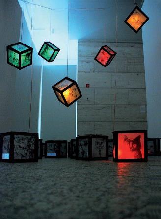 Debreceni Nemzetkozi Muvesztelep_Muvek_Dorothea Fleiss_21_2008_installacio_21x21 cm darabonként