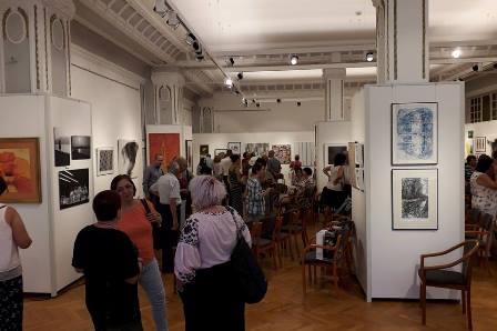 A művésztelep záró kiállítása, 2018